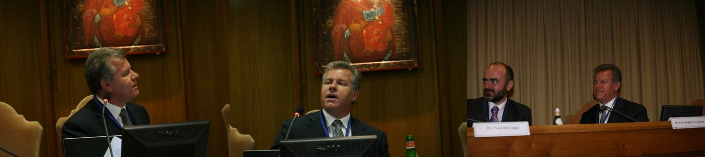 centeno lecturing at vatican