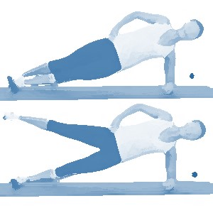 core hip abductor exercise